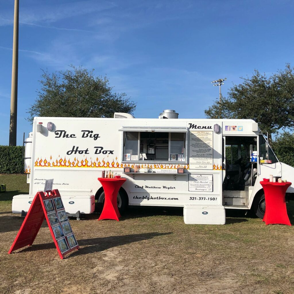 The Big Hot Box Food Truck