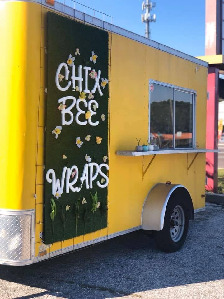 Chixbee wraps Food Truck