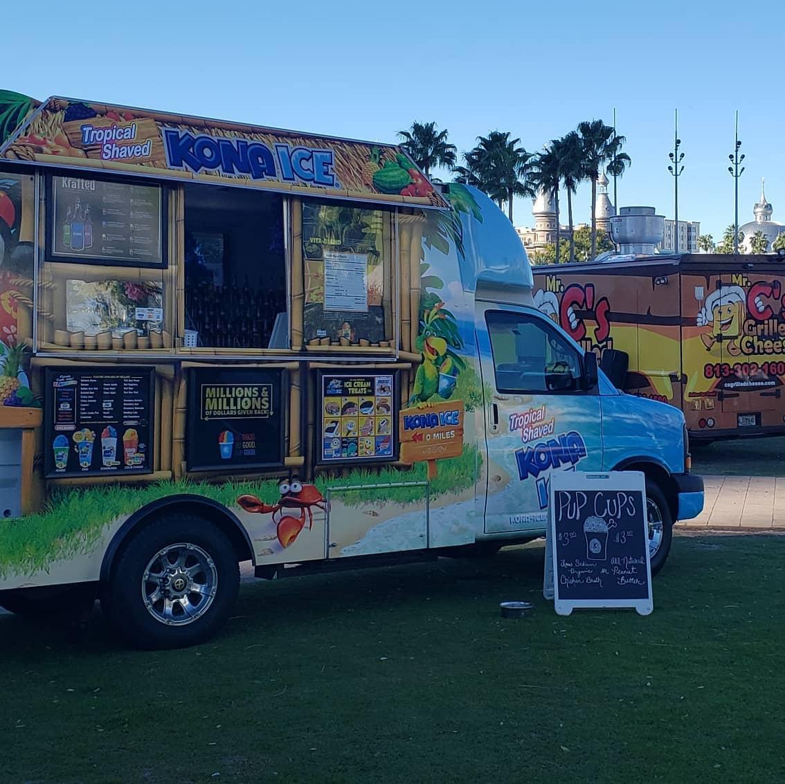 Kona Ice of Tampa Food Truck