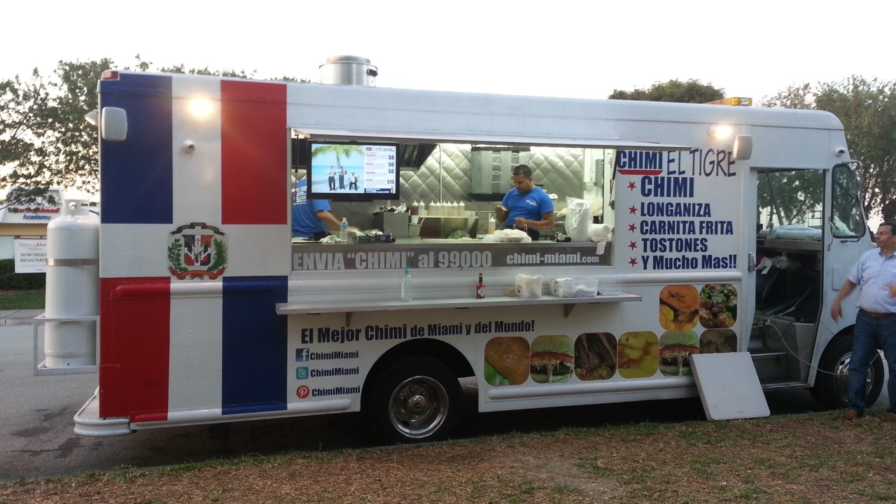 """Chimi """"El Tigre"""" Food Truck"""