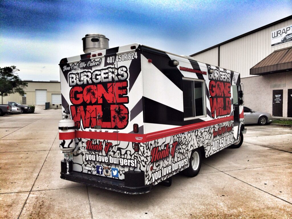 Burgers Gone Wild Food Truck
