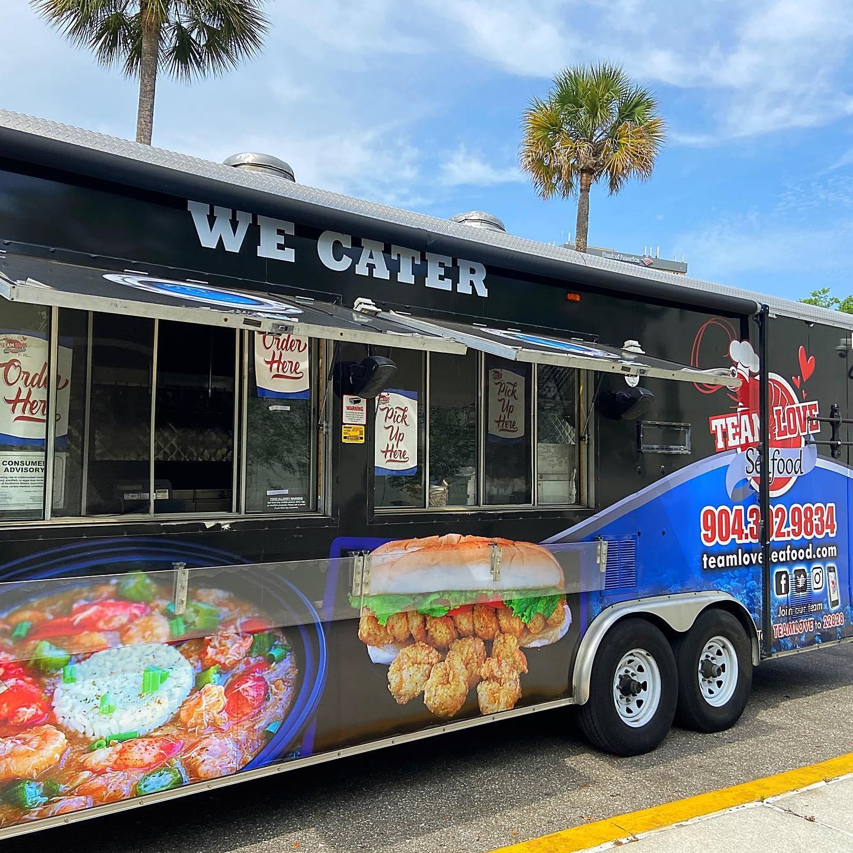 Team Love Seafood Food Truck