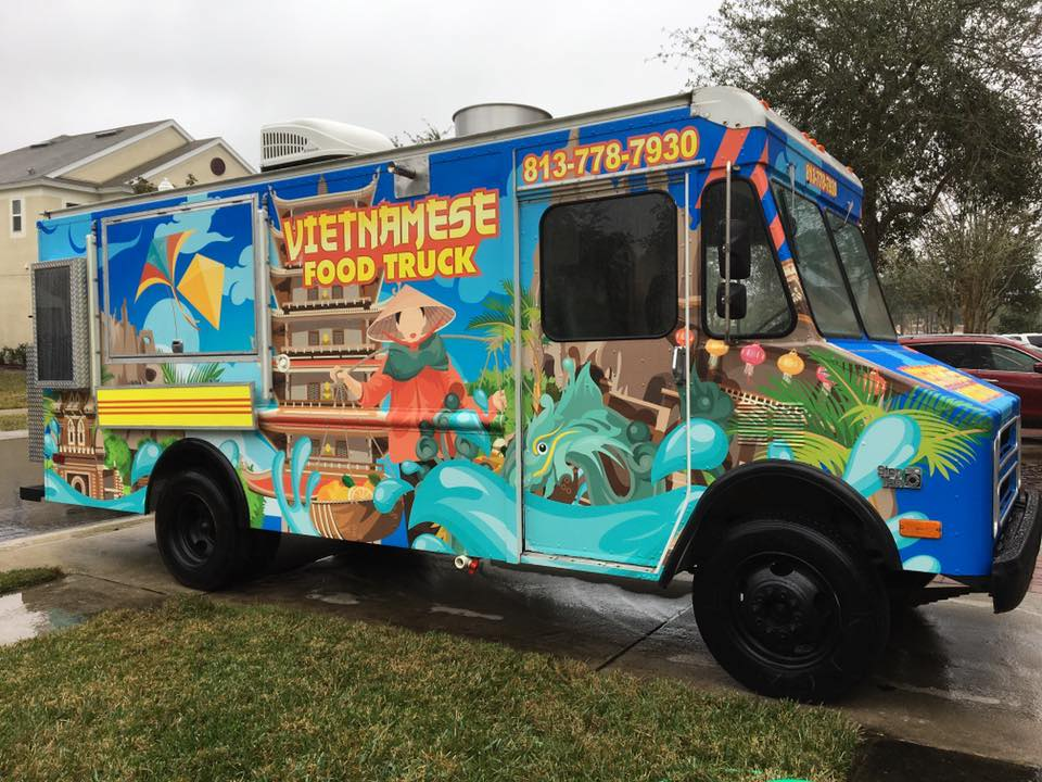 Vietnamese Food Truck Food Truck