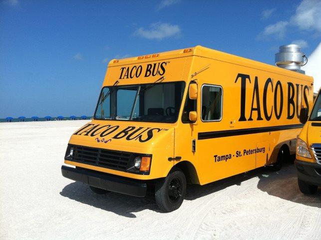 Taco Bus Food Truck
