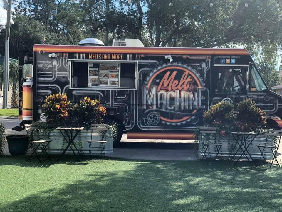 The Melt Machine Food Truck Food Truck