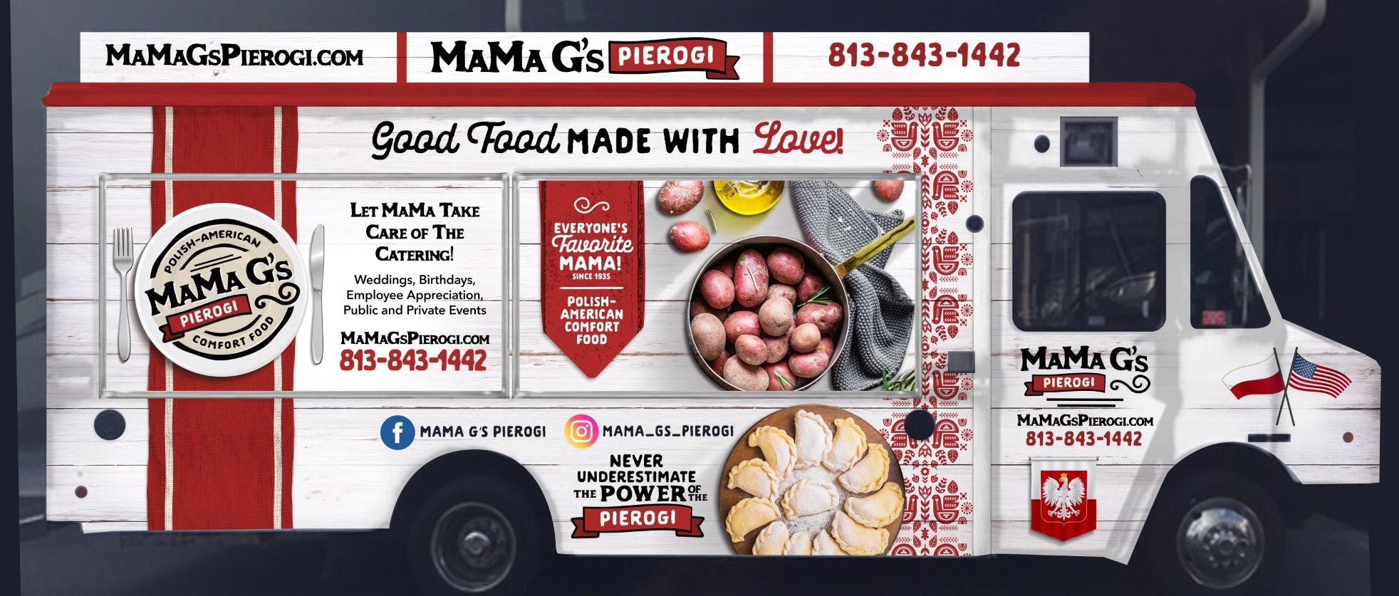 MaMa G's Pierogi Food Truck