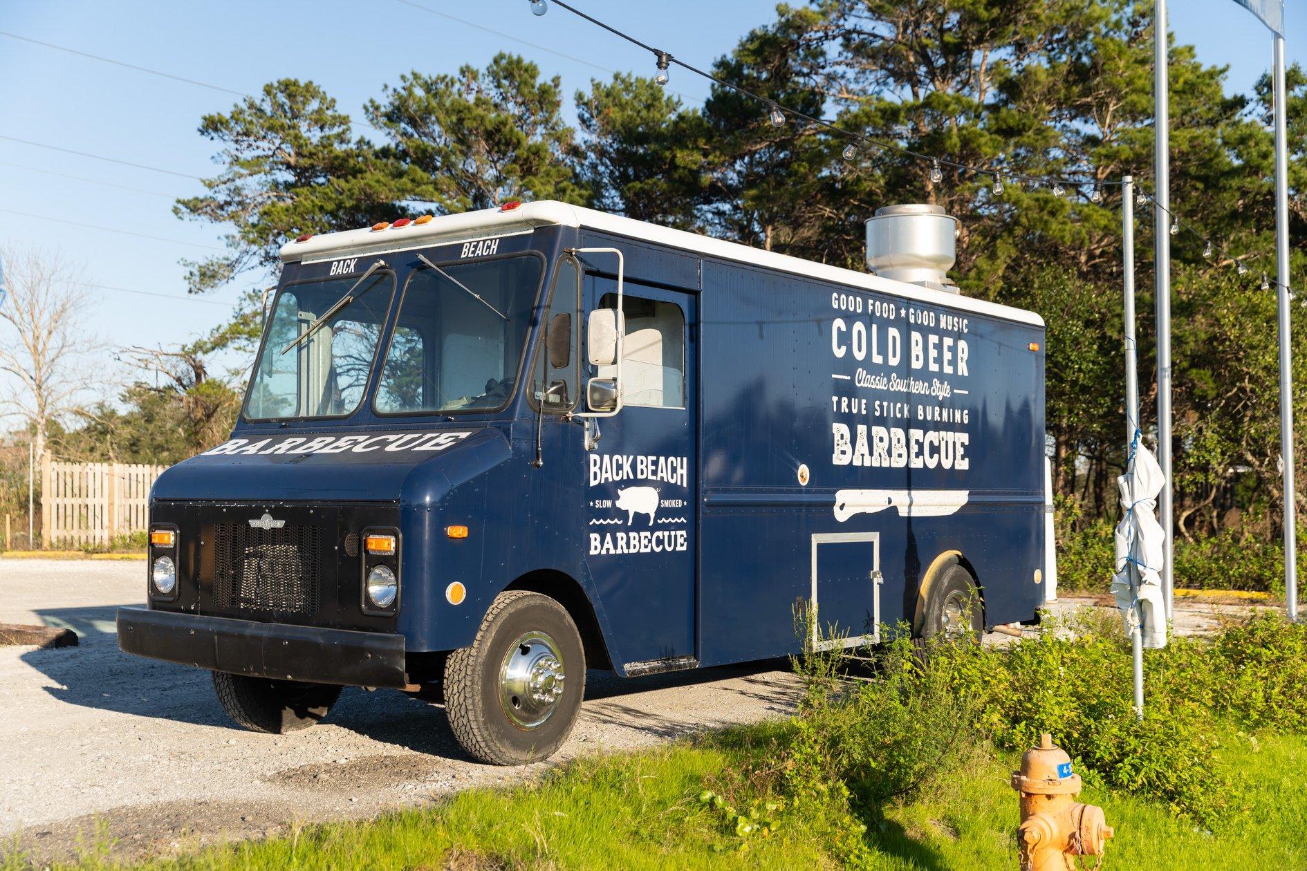 Back Beach Barbecue Food Truck