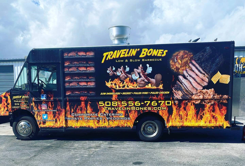 Travelin' Bones BBQ food truck
